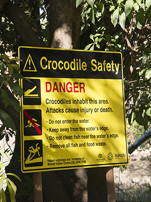 Kakadu National Park Safety Information