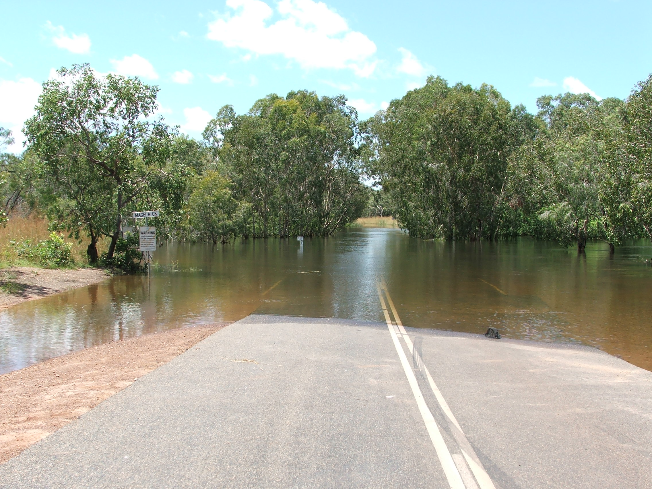 Magela Crossing Wet Season